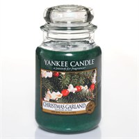 Yankee Candle Classic Christmas Large Jar - Christmas Garland (1316480E)