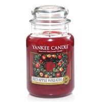 Yankee Candle Classic Christmas Large Jar - Red Apple Wreath (1120697E)