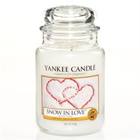 Yankee Candle Classic Christmas Large Jar - Snow In Love (1249712E)