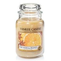 Yankee Candle Classic Christmas Large Jar - Star Anise & Orange (1521065E)