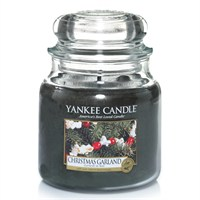 Yankee Candle Classic Christmas Medium Jar - Christmas Garland (1316481E)