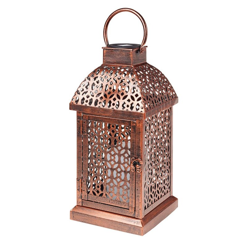 Gardman Antique Brass Candle Lantern L23027