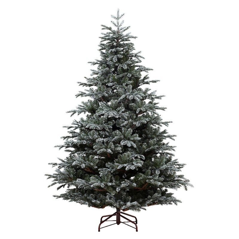 Kaemingk 180cm (6ft) Frosted Mountain Spruce Artificial Christmas ...