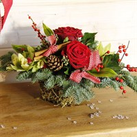 Christmas Festive Table Basket