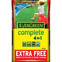 EverGreen Complete 4 in 1 360m2 + 10% Free 12.6kg Bag (015007)
