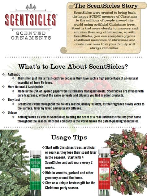 ScentSicles Info Flyer