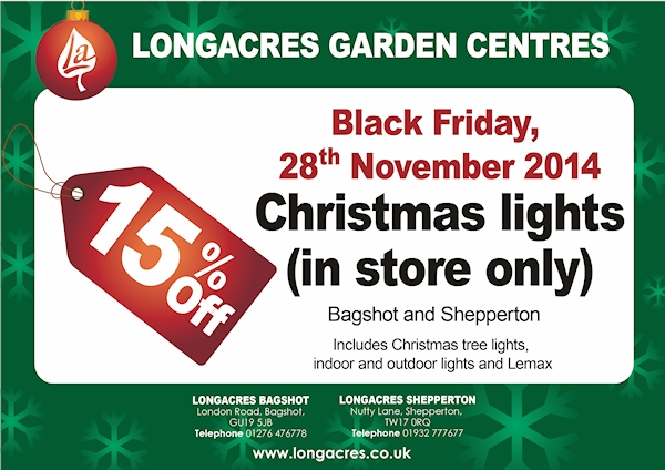 Black Friday Longacres Flyer