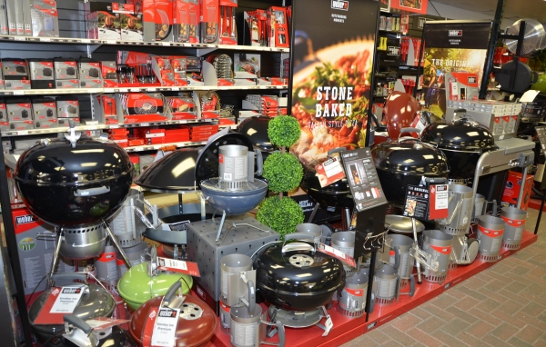 Weber Display at Bagshot