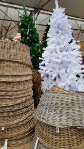 Wicker Tree Stands