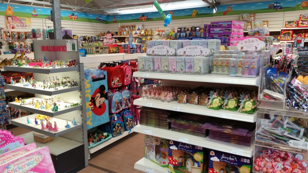 Toys Display at Longacres