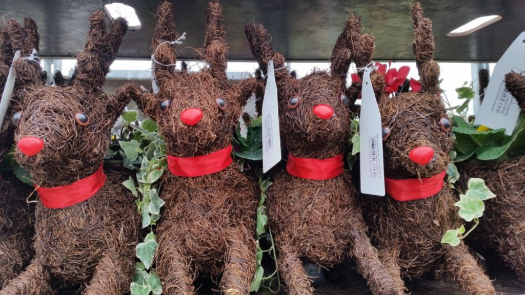 Reindeer Planters