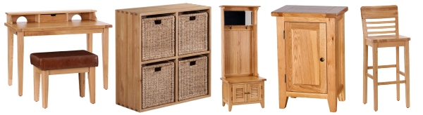 Oak Furniture Range at Longacres
