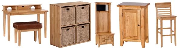 Oak Furniture Range at Longacres