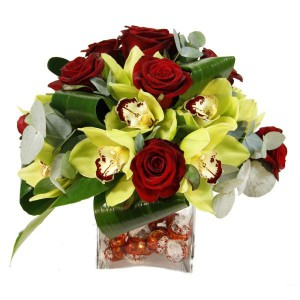 Lindor Chocolate Arrangement