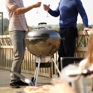 Weber Master Touch Charcoal BBQs