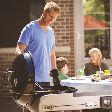 Weber Performer Charcoal BBQs