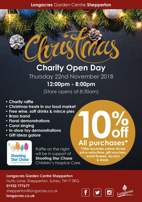 Longacres Shepperton Charity Christmas Open Day 2018