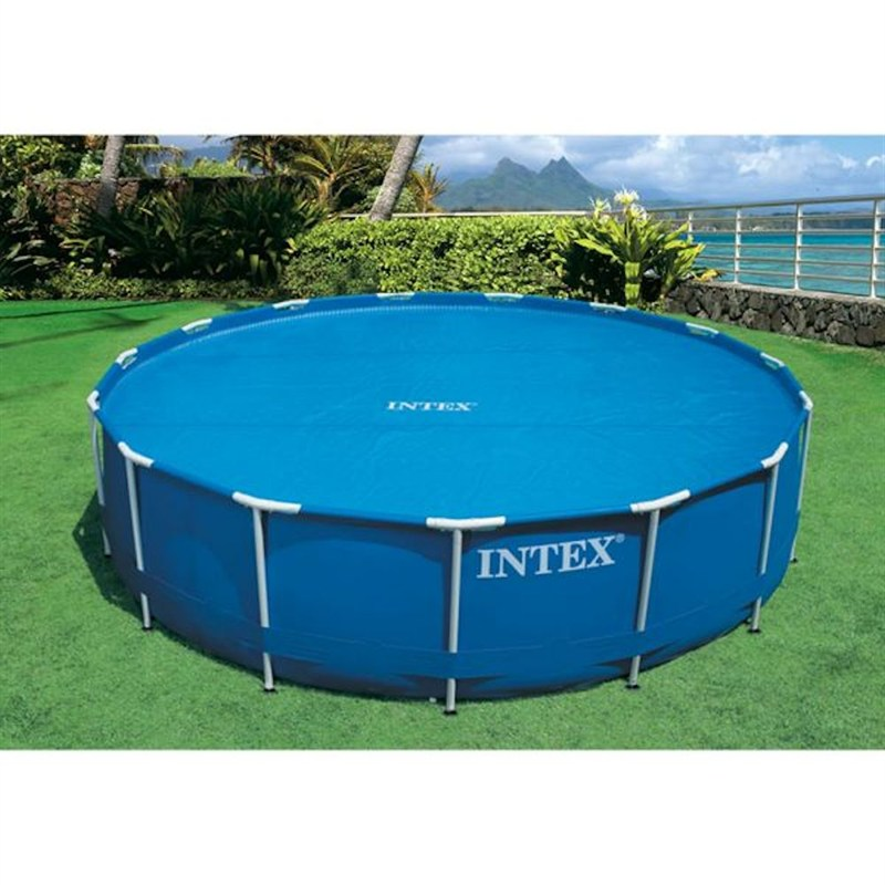 Intex Swimming Pool Cover for 8ft Pool - Solar Swimming Pool Cover ...