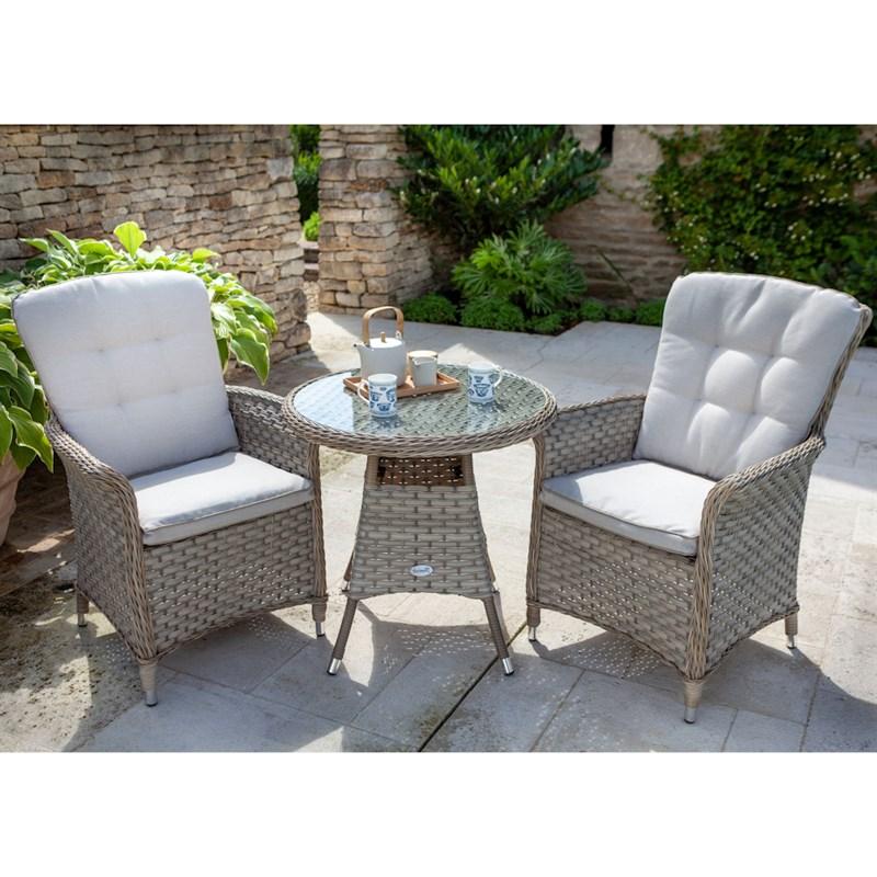 Hartman Heritage 2 Seat Bistro Set Outdoor Garden ...