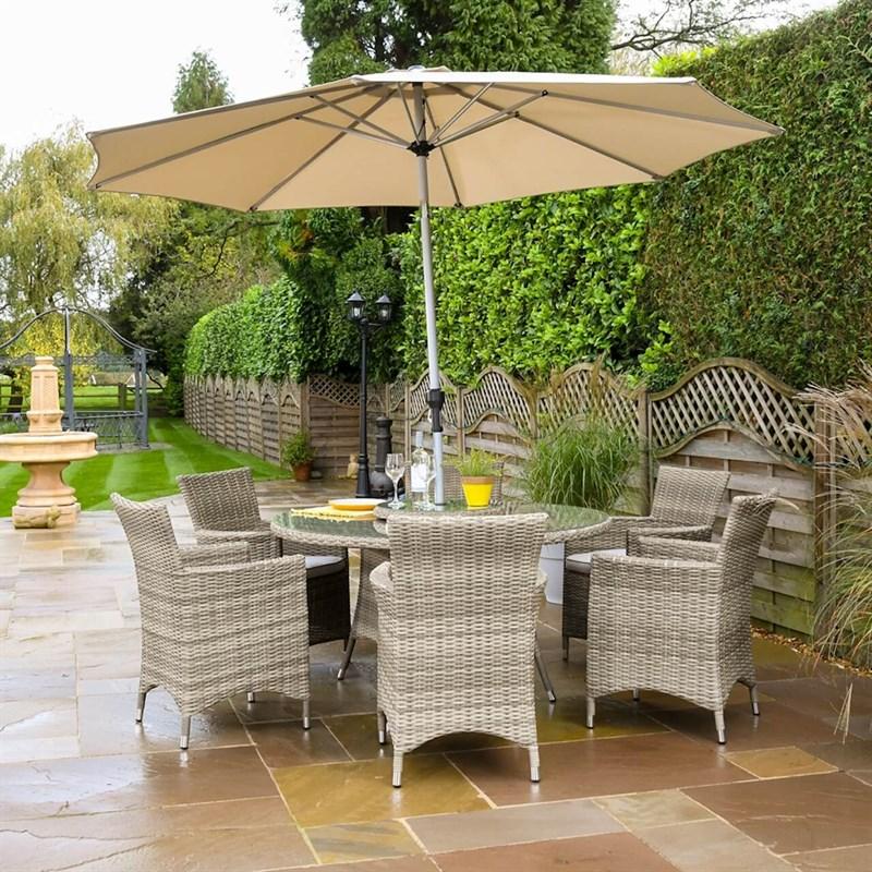 Hartman Westbury 6 Seat Outdoor Garden Furniture Set ...