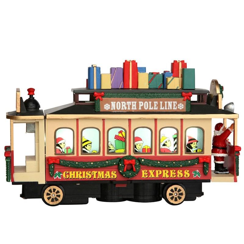 Lemax Christmas Village - Santa's Cable Car Christmas ...