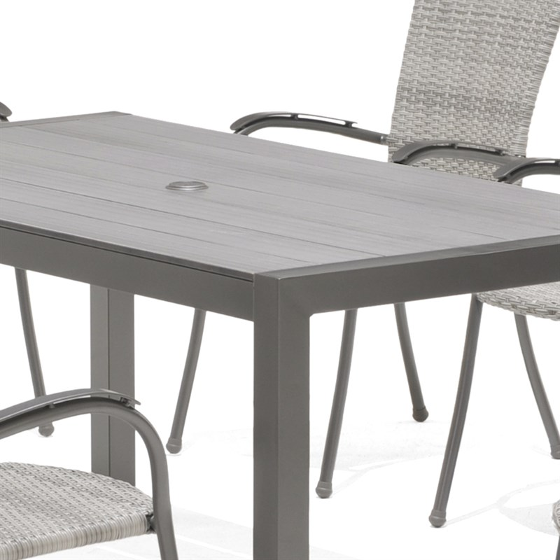 Lifestyle Furniture Company: Lifestyle Garden Emelina 6 Seat Rectangular Outdoor Garden