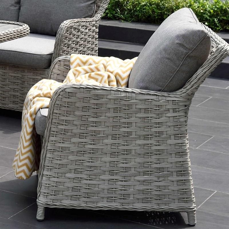 Lifestyle Garden Samoa Casual Corner & Sofa Chairs Outdoor Garden Furniture  Dining Set