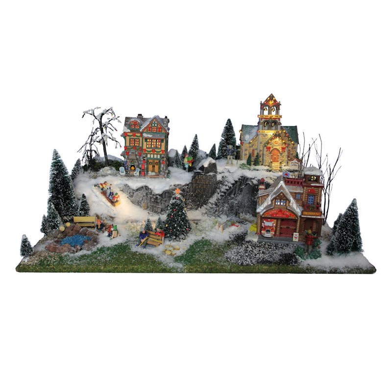 Christmas Village Accessories.My Village Christmas Village Accessories Glacier Base My33