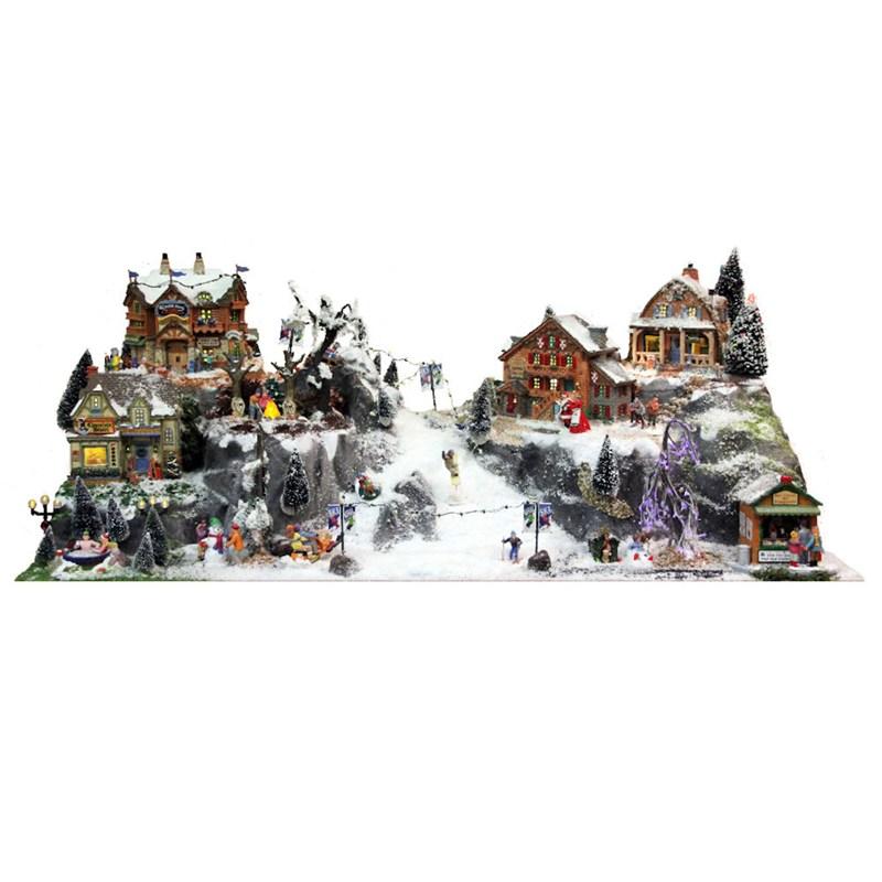 Christmas Village Accessories.My Village Christmas Village Accessories Ski Run Base My20