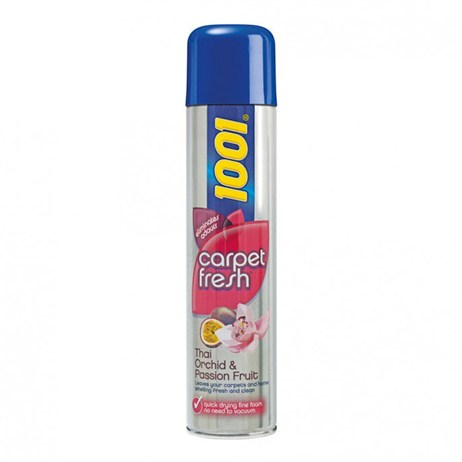 1001 Carpet Fresh Cleaning Spray - Thai Orchid & Passion Fruit - 300ml (Mrs Hinch)