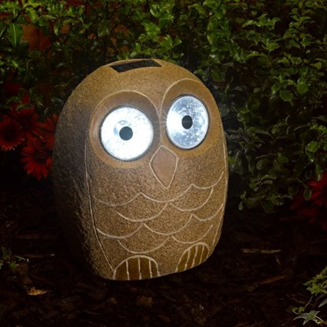 Smart Garden Jumbo Stony Owl Light (1020440RS)