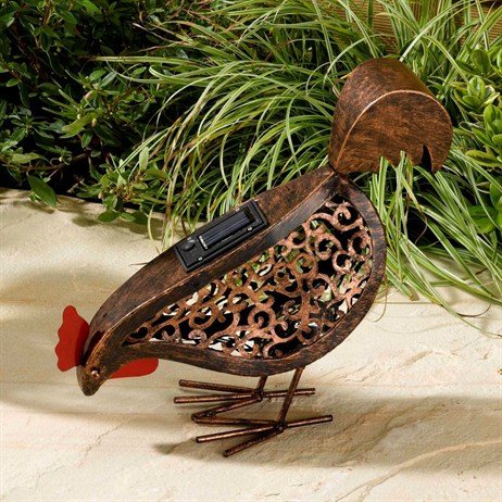 Smart Garden Metal Filigree Hen - Eating (1050030RS)