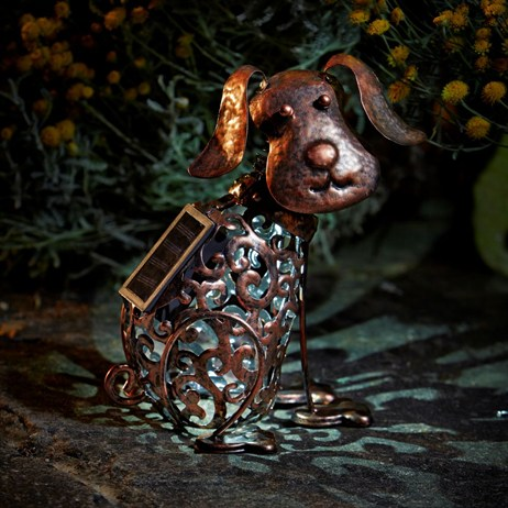 Smart Garden Metal Filigree Dog (1050111)