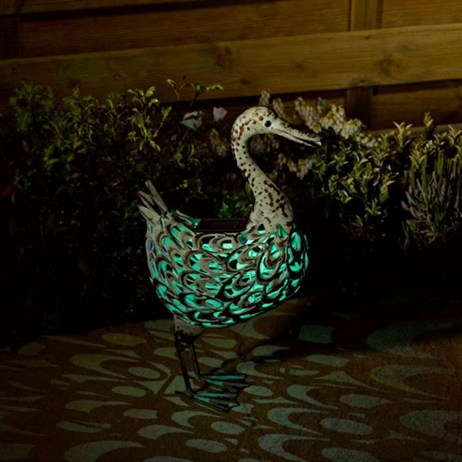 Smart Garden Metal Filigree Duck (1050640RS)
