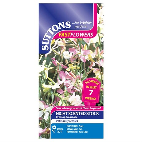 Suttons Stock Seeds - Sweetly Scented Mix (132677)