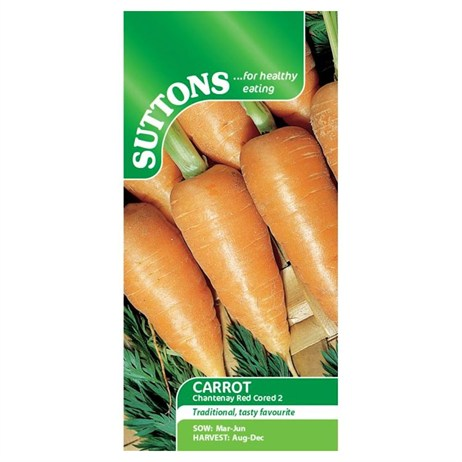 Suttons Carrot Seeds - Chantenay Red Cored 2 (157335)