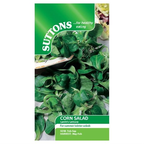 Suttons Corn Salad Seeds - Lambs Lettuce (161255)