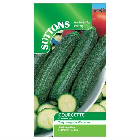 Suttons Courgette Seeds - F1 Defender (161328)