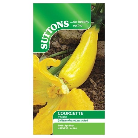 Suttons Courgette Seeds - F1 Atena (161417)
