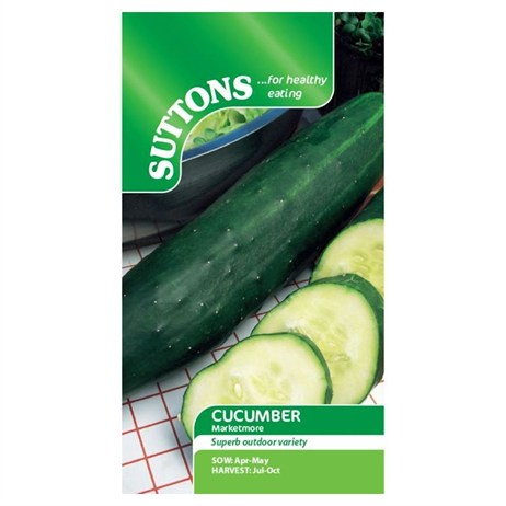 Suttons Cucumber Seeds - Marketmore (162226)
