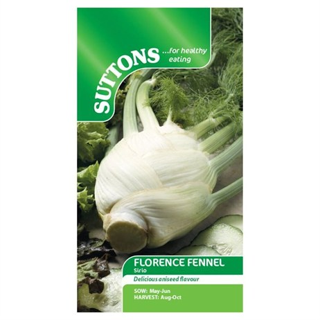 Suttons Florence Fennel Seeds - Sirio (163531)