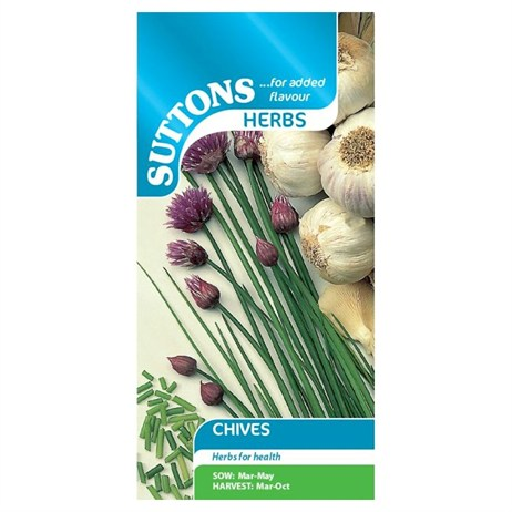 Suttons Herb Seeds - Chives (164596)