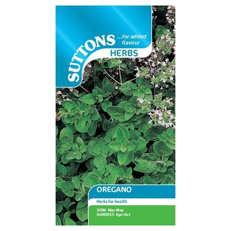 Suttons Herb Seeds - Oregano (165184)
