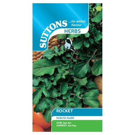 Suttons Herb Seeds - Rocket (165265)
