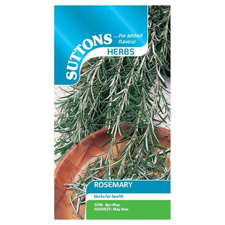 Suttons Herb Seeds - Rosemary (165273)