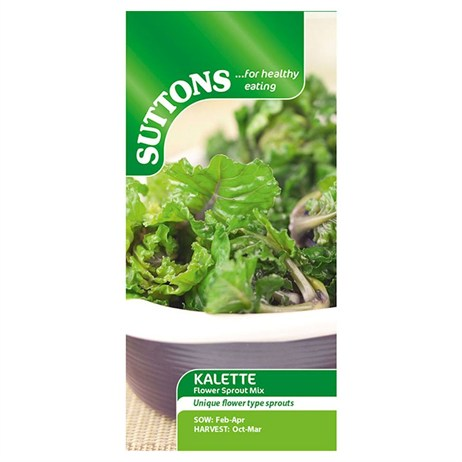 Suttons Brussels Sprouts Seeds - Kalette Flower Sprout Mix (166200)