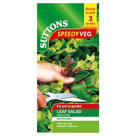 Suttons Lettuce Seeds - Mix (166780)