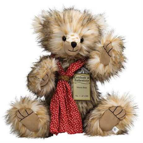 Silver Tag Teddy Bears - Mason Bear (17105)