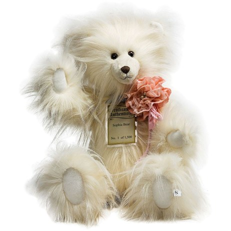 Silver Tag Teddy Bears - Sophia Bear (17110)