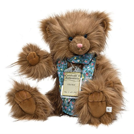 Silver Tag Teddy Bears - Ella Bear (17111)